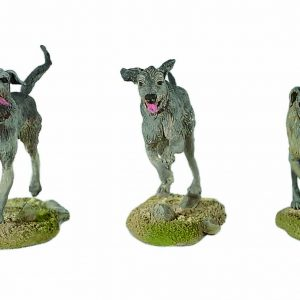 BH1112 IRISH WOLFHOUND DOGS