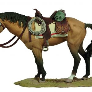 FW0504BY STANDING HORSE (BAY)