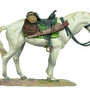 FW0504WE STANDING HORSE (WHITE)