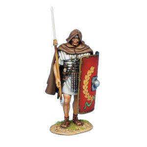 ROM169a Imperial Roman Legionary Cooking - Red Tunic