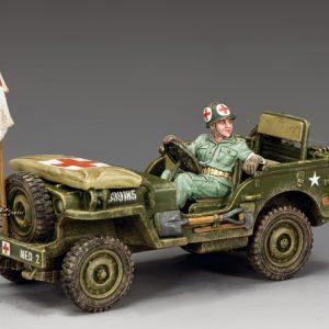 DD293 U.S ARMY MEDICS JEEP