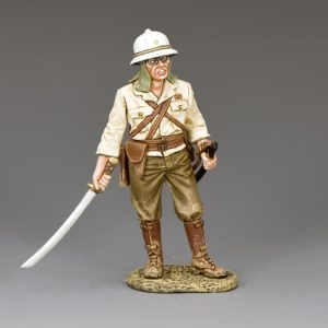 JN027 STANDING OFFICER WITH SWORD DRAWN