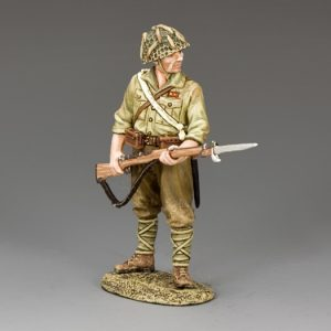 JN035 STANDING WITH RIFLE AND BAYONET