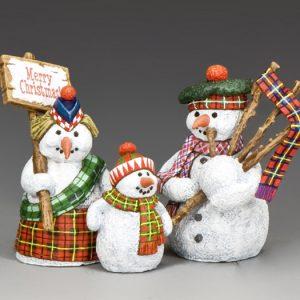 XM016-02 THE SNOWMAN FAMILY