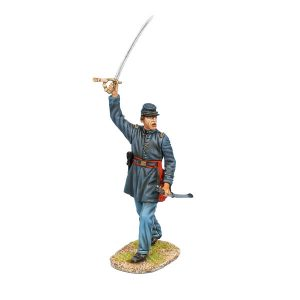 ACW102 UNION CAPTAIN WITH RAISED SWORD
