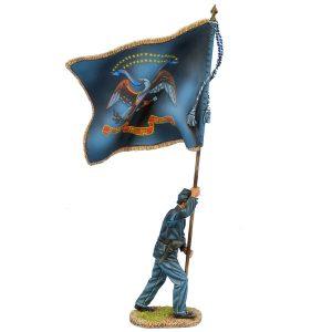 ACW104 UNION SERGEANT STANDARD BEARER - 56th PENNSYLANIA VOLS REGT COLOURS