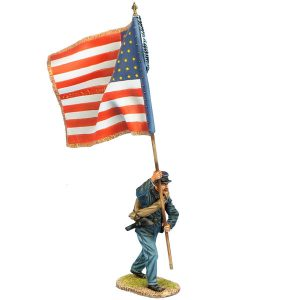 ACW115 UNION SERGEANT STANDARD BEARER - 147th NY VOLS