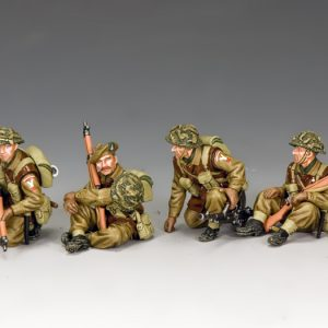 BBB002 BRITISH TANK RIDERS SET