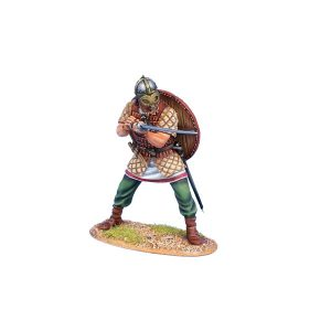 VIK011 VIKING WARRIOR THRUSTING SWORD