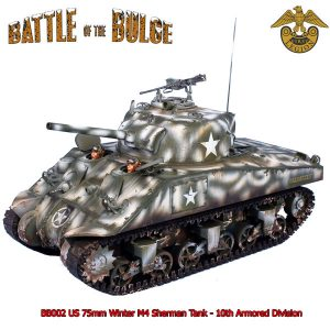 BB002 US 75mm WINTER M4 SHERMAN TANK - 10th ARMOURED DIVISION
