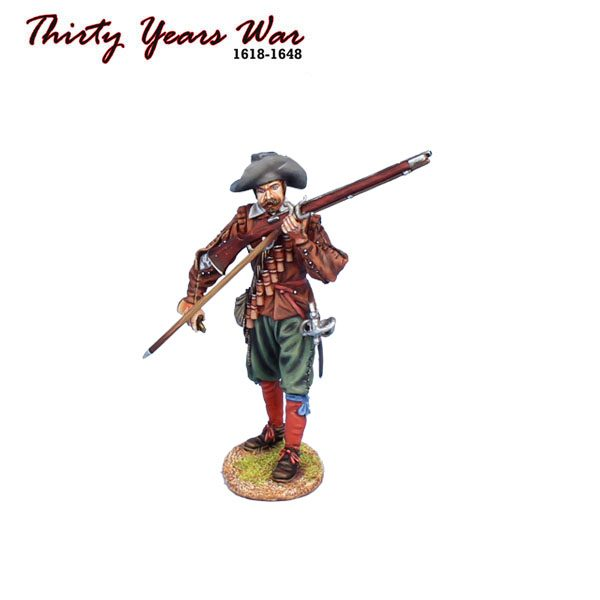 TYW015 SPANISH TERCIO MUSKETEER LOADING