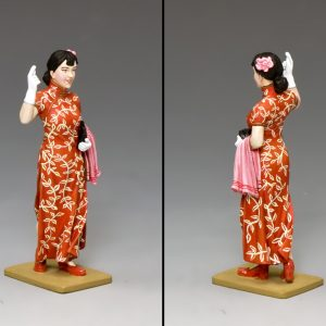 HK257 G/M SHANGHAI LADY IN RED