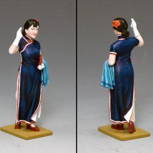 HK271G/M SHANGHAI LADY IN BLUE