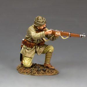 AL084 TURKISH SOLDIER KNEELING RELOADING