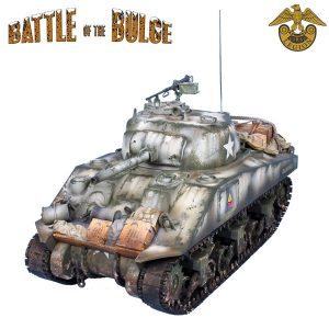 BB003 US 75mm WINTER M4 SHERMAN TANK - 10th ARMOURED DIVISION