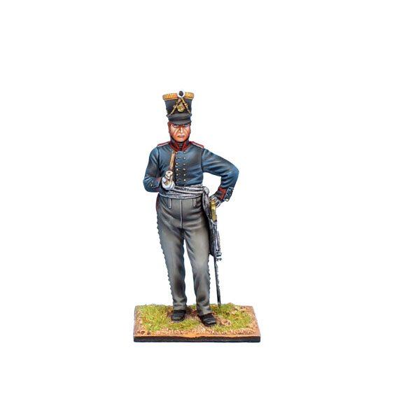 NAP0554 PRUSSIAN ARTILLERY OFFICER - 2nd BRANDENBURG