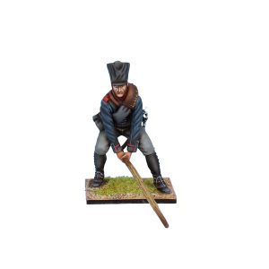 NAP0556 PRUSSIAN ARTILLERY GUNNER WITH HANDSPIKE - 2nd BRANDENBURG