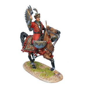 TYW006 POLISH WINGED HUSSAR KETTLE DRUMMER