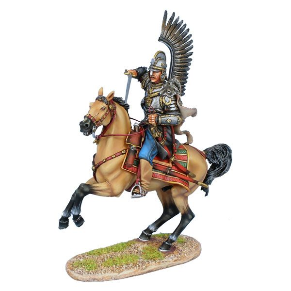 TYW008 POLISH WINGED HUSSAR ATTACKING WITH SWORD