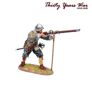 TYW014 SPANISH TERCIO MUSKETEER READY TO FIRE