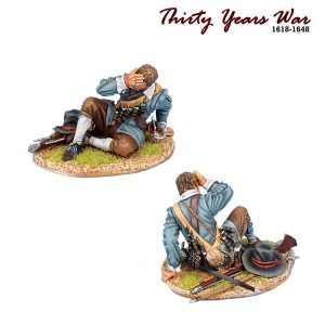 TYW024 SPANISH TERCION MUSKETEER CASUALTY