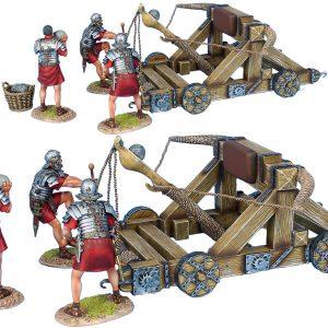 ROM180 ROMAN ONEGAR WITH 3 CREW - RED TUNICS