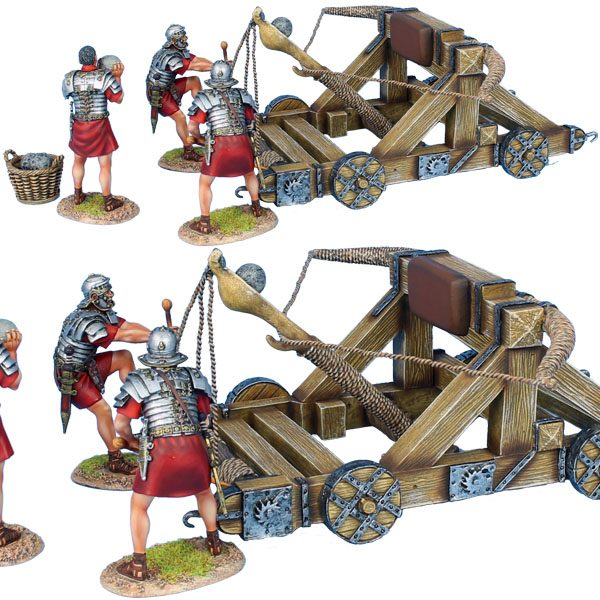 ROM180 ROMAN ONEGAR WITH 3 CREW - RED TUNICS