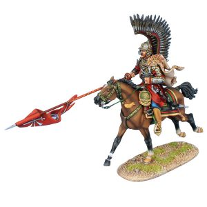 TYW007 POLISH WINGED HUSSAR CHARGING WITH LANCE