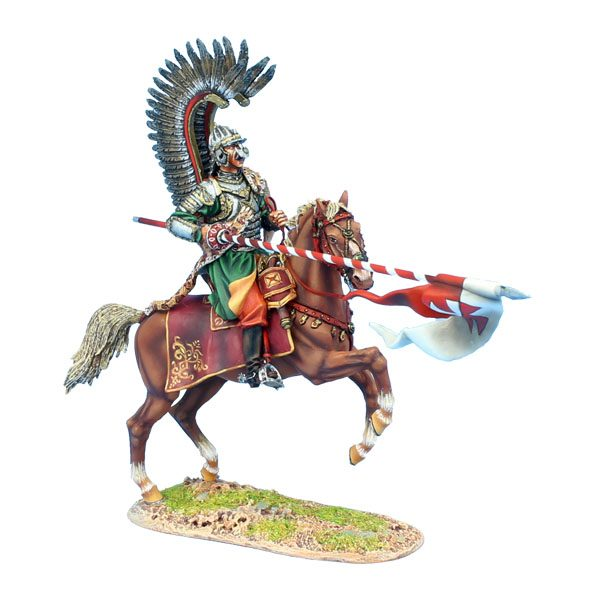 TYW010 POLISH WINGED HUSSAR CHARGING WITH LANCE