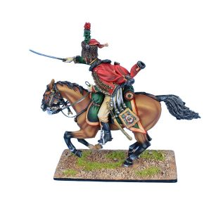 NAP0536 FRENCH OLD GUARD CHASSEUR a' CHEVAL TROOPER #2