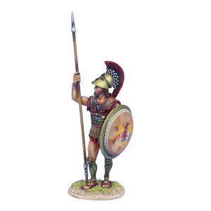 AG063 GREEK HOPLITE STANDING WITH DORY
