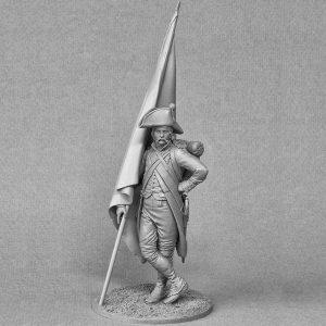 FL7502 Napoleonic French Revolutionary Standard Bearer 1796-1805