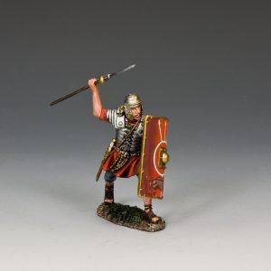 ROM023 ROMAN SOLDIER THROWING PILUM