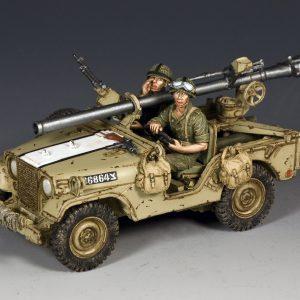 IDF017 ISRAELI M38 JEEP W/106mm RECOILLESS RIFLE