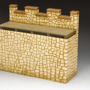 RF003 Roman Fort Straight Wall Section