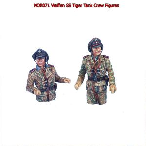 NOR071 GERMAN WAFFEN SS TANK CREW FOR TIGER TANK