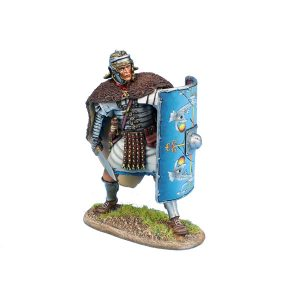 ROM193 IMPERIAL ROMAN LEGIO XXX LEGIONARY IN BEARSKIN CLOAK