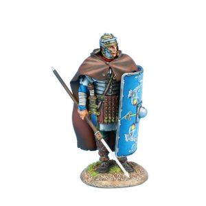ROM199 IMPERIAL ROMAN LEGIO XXX LEGIONARY STANDING with PILUM