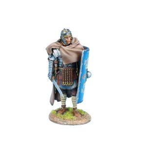 ROM204 IMPERIAL ROMAN LEGIO XXX LEGIONARY STANDING with GLADIUS