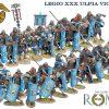 ROM200 IMPERIAL ROMAN LEGIO XXX LEGIONARY STANDING with TWO PILUM