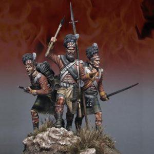 "FL54001 Great British Gordon Highlanders - ""Scottish Fury"" at Waterloo"