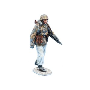 BB012 GERMAN WAFFEN SS PANZER GRENADIER with MG42