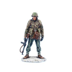 BB014 GERMAN WAFFEN SS PANZER GRENADIER with STG44