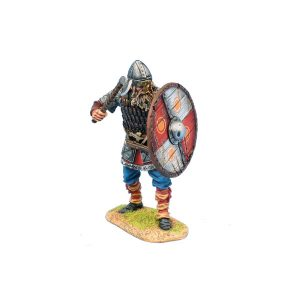 VIK018 VIKING WARRIOR SHIELDWALL with AXE
