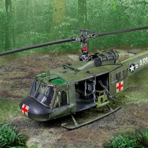 CS01006 UH1 HUEY HELICOPTER MEDEVAC
