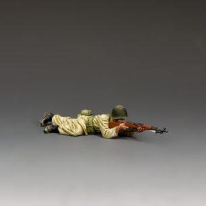 IDF025 EGYPTIAN/SYRIAN SOLDIER LYING PRONE