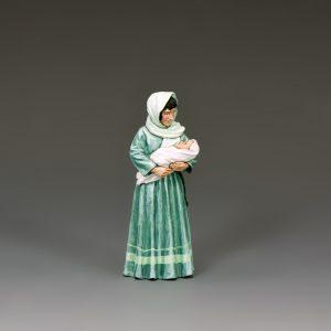 LoJ046 WOMAN & BABY