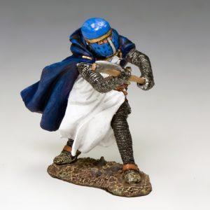 MK161 The Blue Knight w/ Axe
