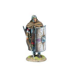 ROM219 Imperial Roman Legio XIV G.M.V. Legionary Standing with Pilum