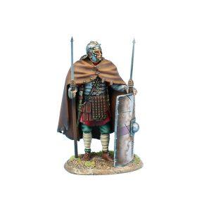 ROM220 Imperial Roman Legio XIV G.M.V. Legionary Standing with Two Pilum